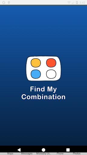 find my combination screenshot 1
