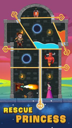 Hero Pin: Rescue Princess apkdebit screenshots 3