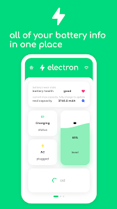 electron - battery health and real capacity info 2.0.2