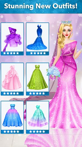 Ice Princess Wedding Dress Up Stylist 0.11 screenshots 3