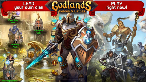 Godlands RPG - Fight for Throne : Legendary Story 1.30.13 screenshots 8