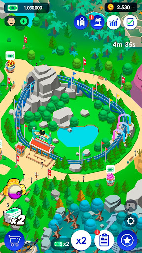 Idle Theme Park Tycoon - Recreation Game 2.4.2 Screenshots 5