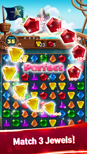 Jewels Fantasy : Quest Temple Match 3 Puzzle 1.9.0 screenshots 2