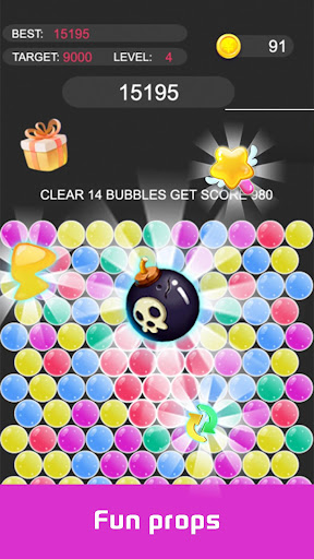 pop star - bubble screenshot 2