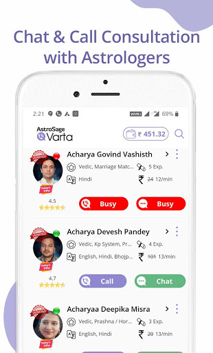 Kundli Software: Astrology & Horoscope, Chat/ Call  screenshots 2