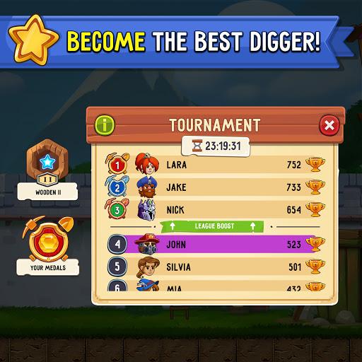 Dig Out! - Gold Digger Adventure  screenshots 13