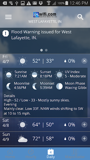 WLFI Weather 5.0.1000 Screenshots 4