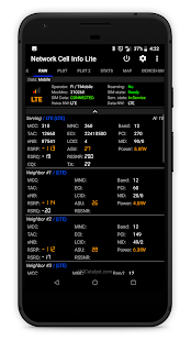 Network Cell Info Lite Screenshot