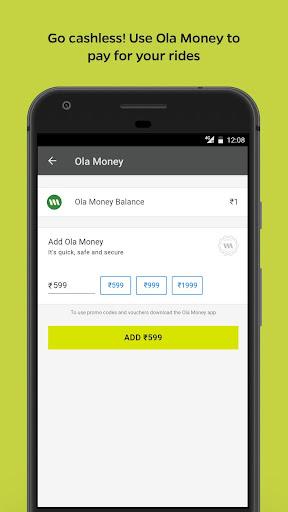 Ola Lite: Lighter Faster Ola App. Book Taxi & Cabs  Screenshots 8