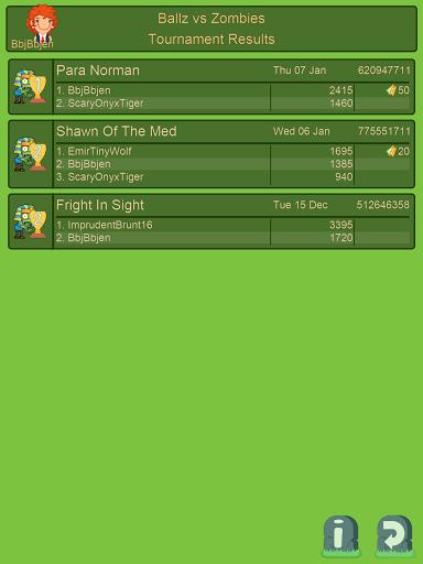 Ballz vs Zombies, zap a zombie  screenshots 18