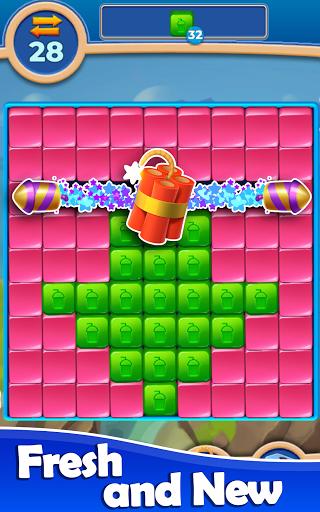 Cube Blast: Match Block Puzzle Game apkpoly screenshots 3