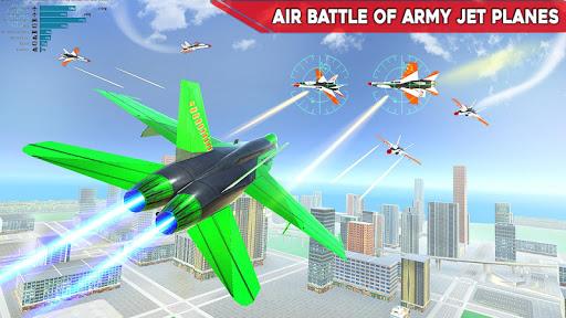 Army Bus Robot Transform Wars u2013 Air jet robot game 3.3 screenshots 6