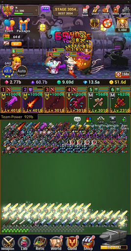 Weapon Heroes : Infinity Forge(Idle RPG)  screenshots 7