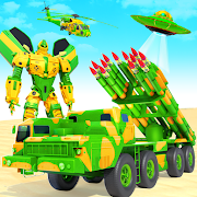 US Army Robot Missile Attack: Truck Robot Games