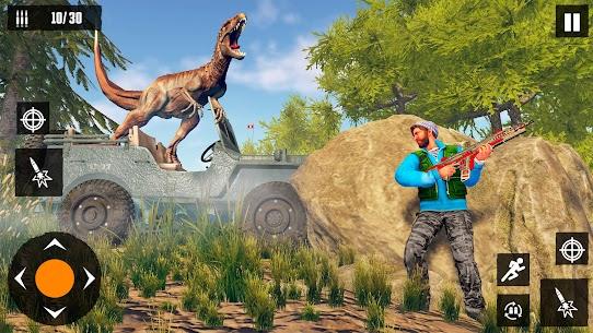 Dino Hunting Games 2021: Dinosaur Games Offline Mod Apk (God Mode) 2