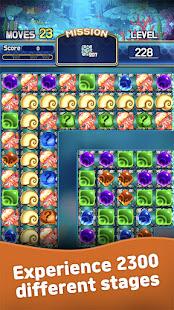 Jewel Abyss: Match3 puzzle Apkfinish screenshots 3