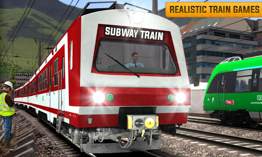 Euro Train Driving Simulation 3D: Free Train Games 1.13 screenshots 7