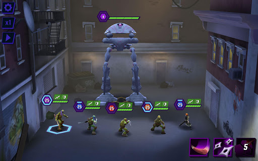 Code Triche Ninja Turtles: Legends (Astuce) APK MOD screenshots 6