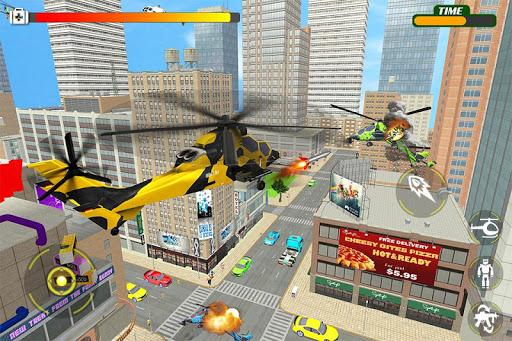 Helicopter Robot Transform War u2013 Air robot games  screenshots 2