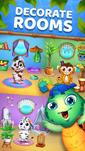 Animatch Friends - cute match 3 Free puzzle game  screenshots 4