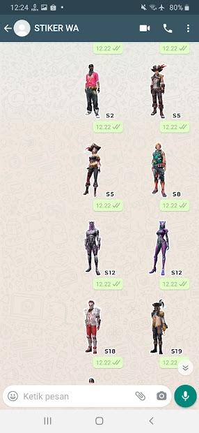 Imágen 21 de Sticker WA Free Fire FF Emote 2021 WAStickerApps para android