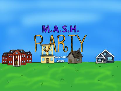 M.A.S.H. Party