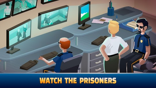 Idle Police Tycoon MOD APK (Unlimited Diamonds) 4
