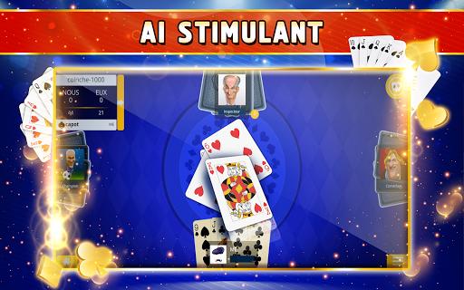 Coinche Offline - Single Player Card Game  screenshots 12