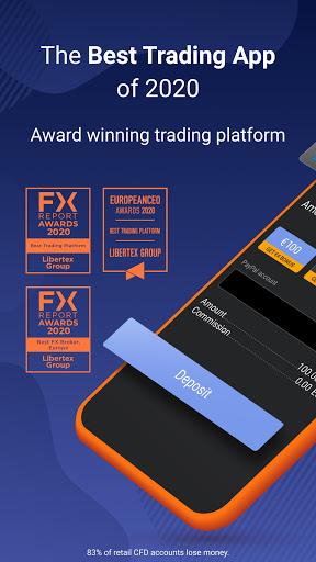 Libertex: Trade in Stocks, Forex, Indices & Crypto  Screenshots 2