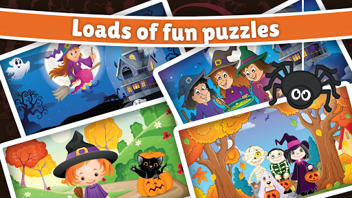 Halloween Puzzle for kids & toddlers ud83cudf83  screenshots 9