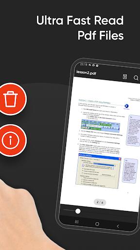 PDF Reader for Android new 2021 apktram screenshots 4