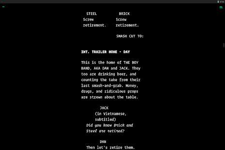 JotterPad - Writer, Screenplay, Novel Screenshot