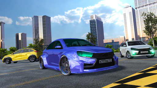 New Lada: Russian Car Drift - Racing City  screenshots 2