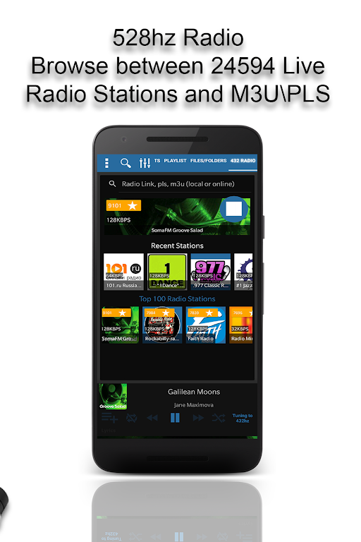 528 Player Pro - Lossless 432hz Audio Music Player – Apps on Google Play poster 4