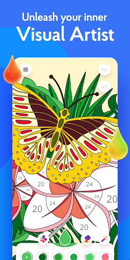 Painting games: Adult Coloring Books, Drawings screenshots 3