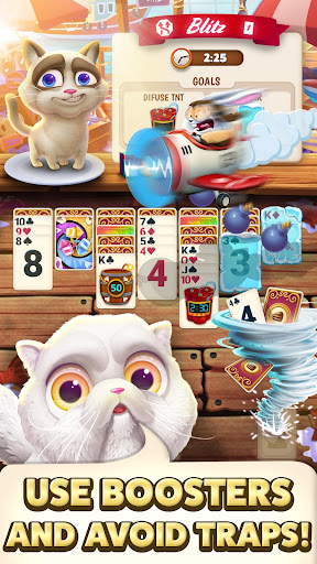 Solitaire Pets Adventure - Free Solitaire Fun Game  screenshots 5