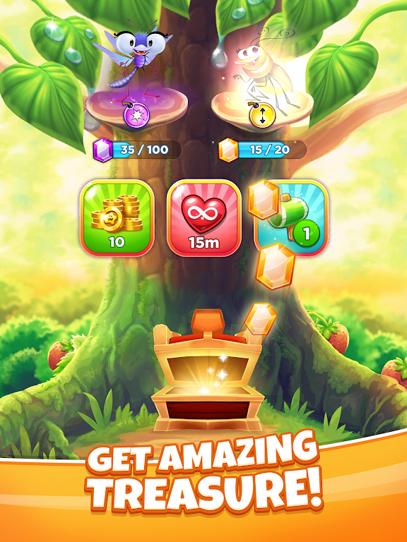 Best Fiends Stars - Free Puzzle Game poster 11