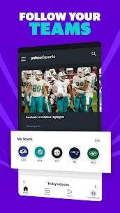 Yahoo Sports MOD APK: sports scores, live NFL (No Ads +) Download 2