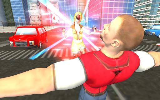 Flying Superhero Revenge: Grand City Captain Games screenshots 8