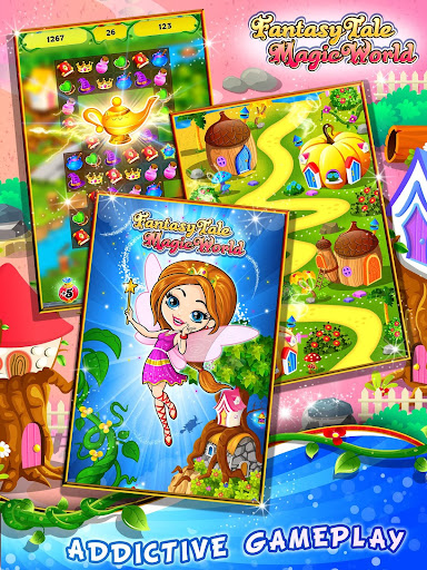 Fairy Tale ud83cudf1f Match 3 Games apkpoly screenshots 9