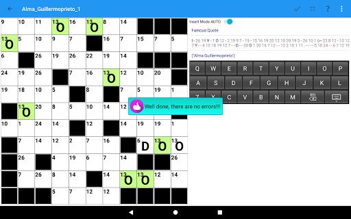 Codeword Puzzles Word games, fun Cipher crosswords 7.5 screenshots 13