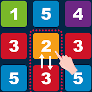 Swap n Merge Numbers: Match 3 Block Puzzle