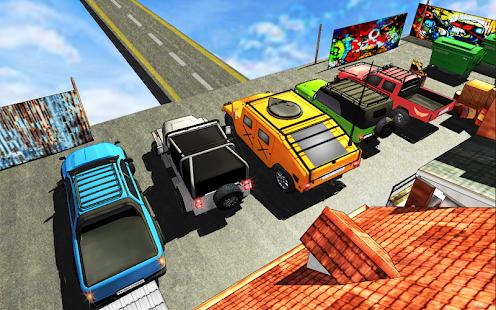 Extreme Jeep Stunts -Mega Ramp-Free Car Games 2021 4.4 Screenshots 10