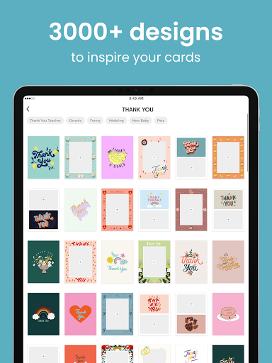 TouchNote: Card Maker - Postcards & Greeting Cards  screenshots 18