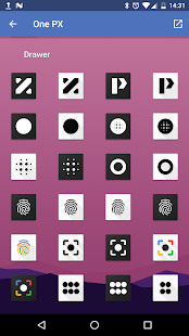OnePX - Icon Pack Screenshot