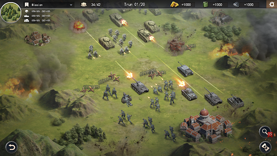 World War 2: Strategy Games WW2 Sandbox Tactics 6