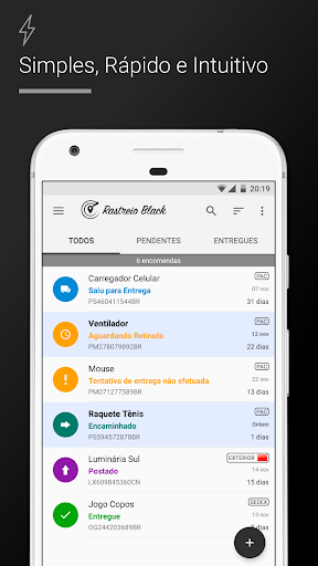 Rastreio Correios (rastreamento correios) modavailable screenshots 10