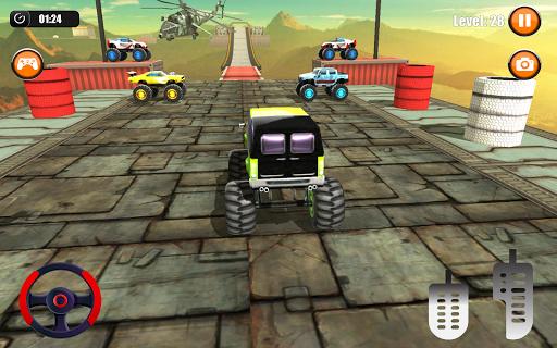 Ultimate Monster Truck: 3D Stunt Racing Simulator apkpoly screenshots 15