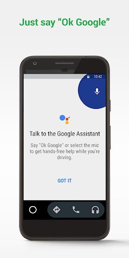 Android Auto - Google Maps, Media & Messaging 6.1.610544-release screenshots 1