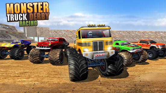 Police Demolition Derby Monster Truck Crash Games 3.3 APK screenshots 6